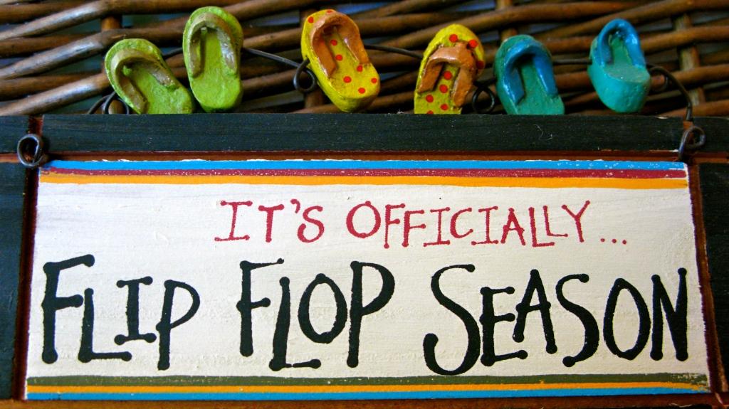 It's Officially Flip-Flop Season!