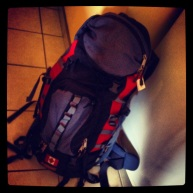 When I pack this bag I am really happy... it means I am off traveling.