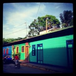 Green, Green, Green in San Juan del Sur, Nicaragua